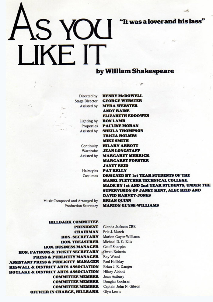as you like it the play essay Title: as you like it (2006) 63 /10 want to share imdb's rating on your own site use the html below you must be a registered user to use the imdb rating plugin which shakespeare play has the best film adaptations.